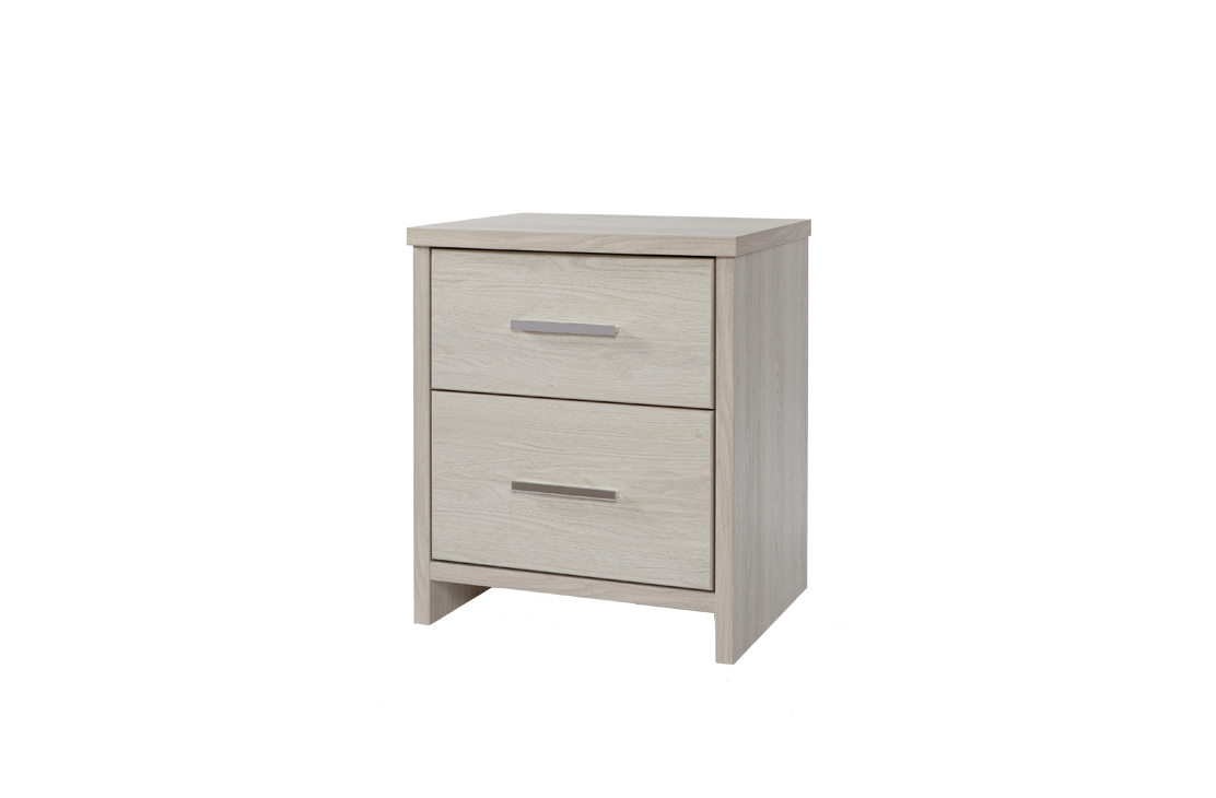 Atlas Bedside - Two Drawers