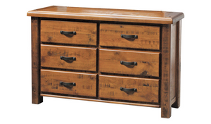 Aspen Lowboy - Six Drawers