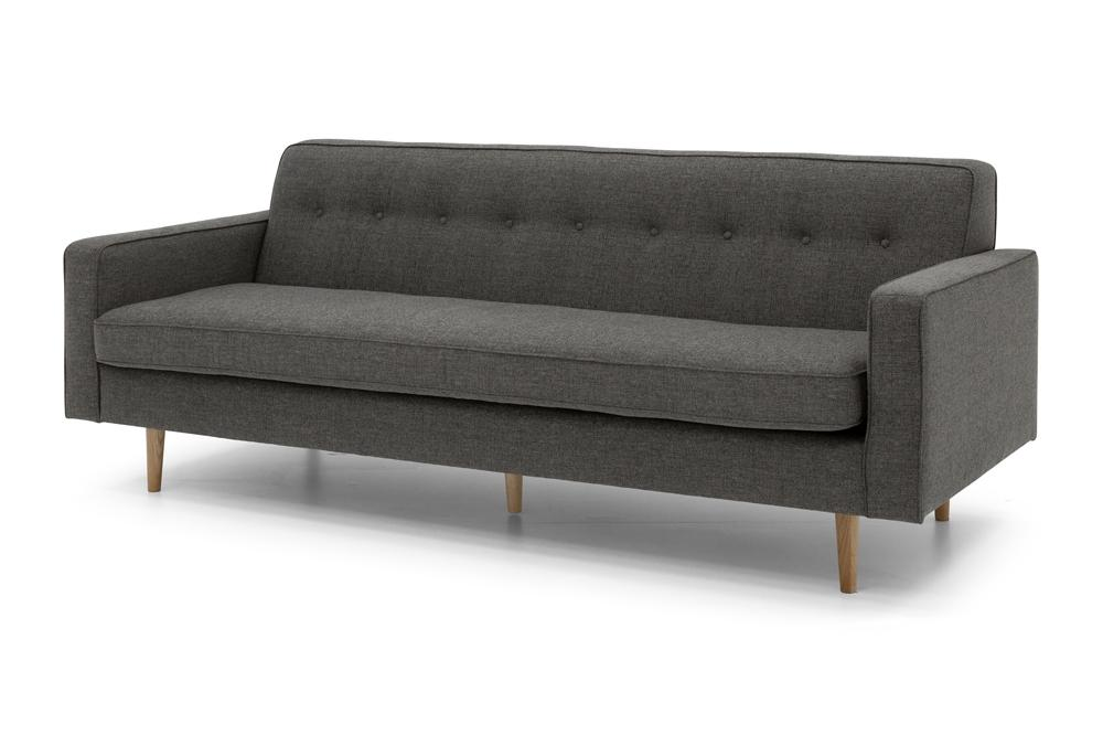 Eleanor Three Seater - Dark Grey