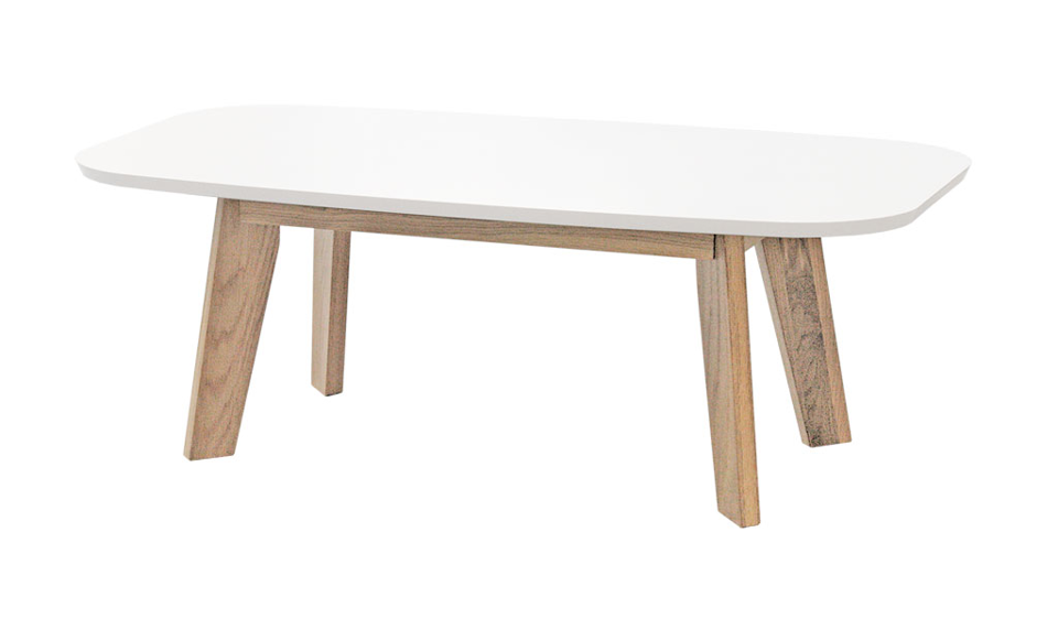 Elm Coffee Table - White