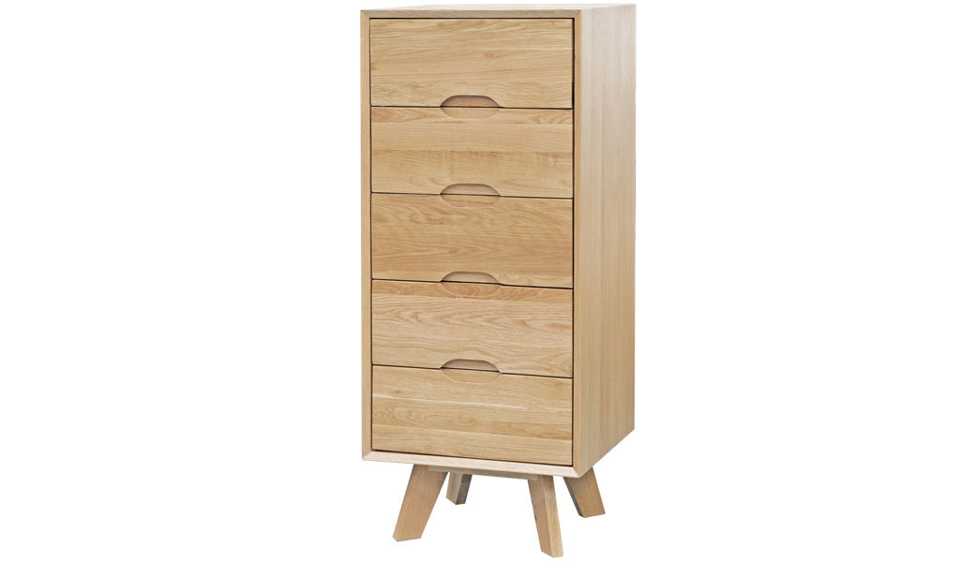 Elm Lingerie Chest - Five Drawers