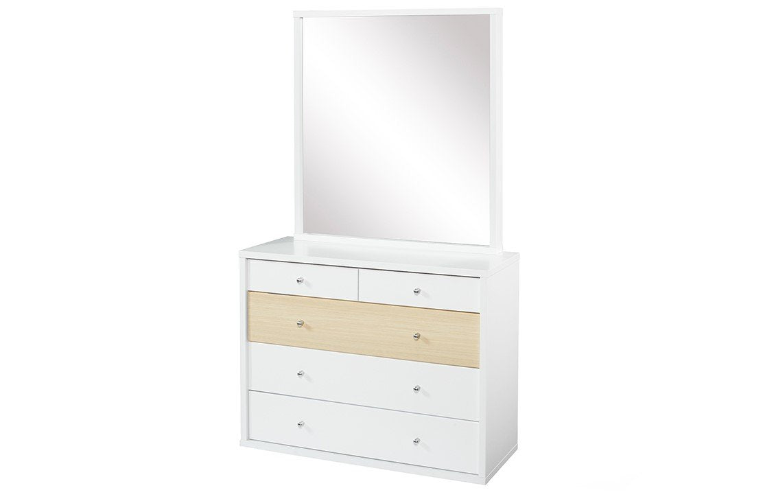 Cosmo Dresser Beech - Five Drawers