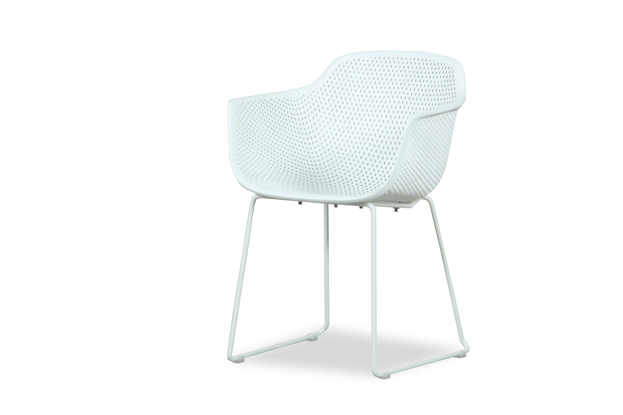 Cove Outdoor Dining Chair - White