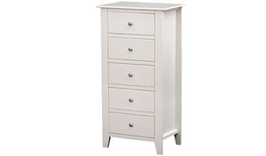 Maple Lingerie Chest - Five Drawers