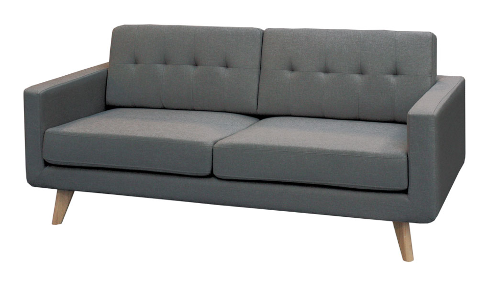 Kora Three Seater Sofa - Dark Grey