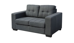 Lacando Two Seater - Charcoal