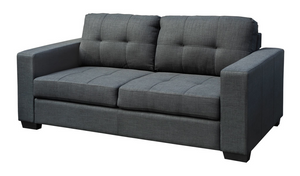 Lacando Three Seater - Charcoal