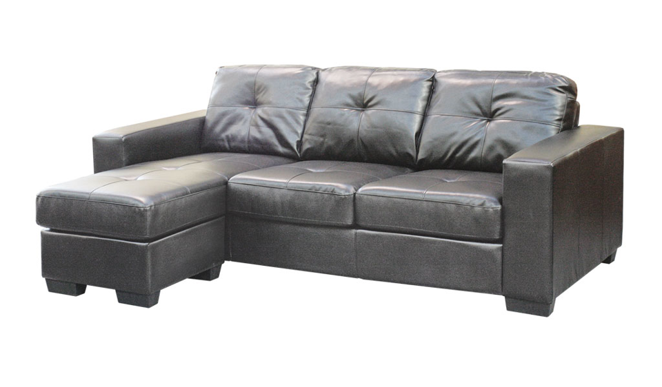 Lacando Chaise - Bonded Leather