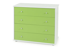 Carnival Dresser Green- Four Drawers