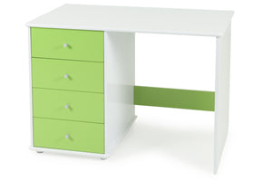 Carnival Desk Green - Four Drawers