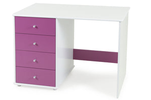 Carnival Desk Blue - Four Drawers