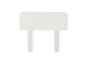 Carnival Grooved King Single Headboard - White