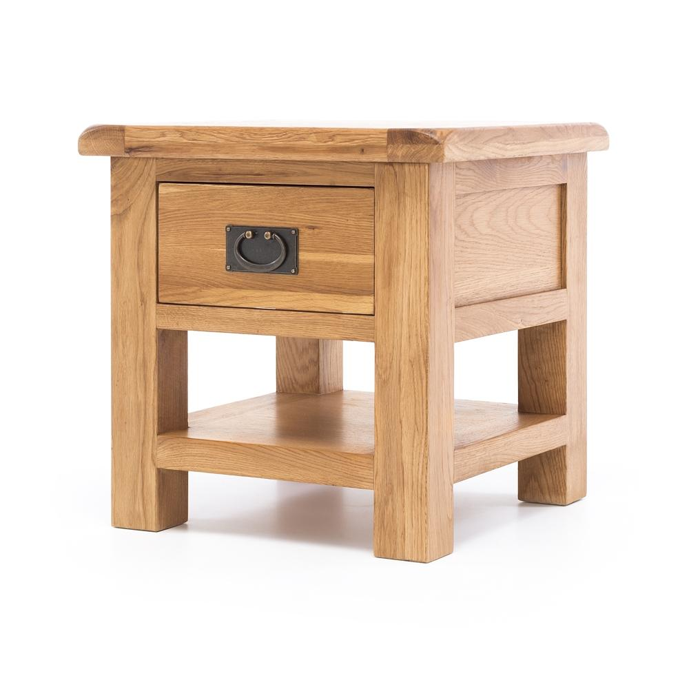 Salisbury Lamp Table - One Drawer