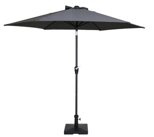 Haast Outdoor Hexagonal Umbrella - Charcoal