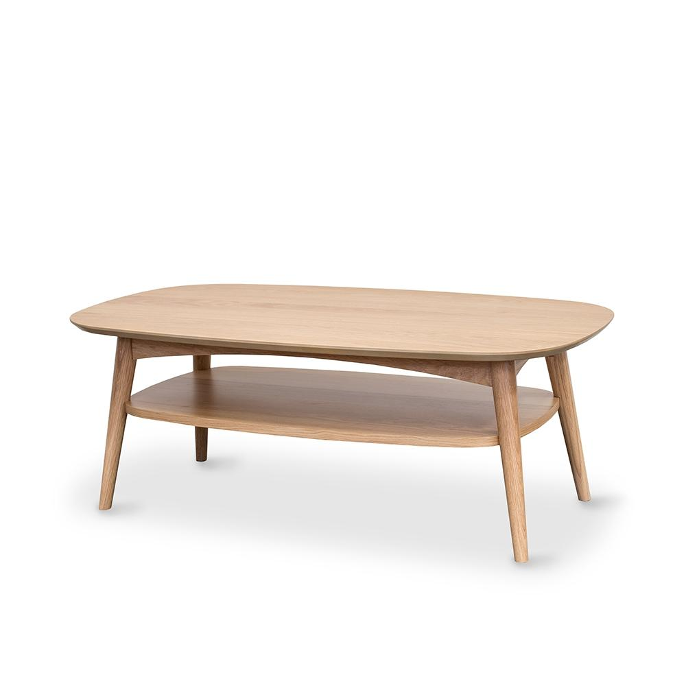 Oslo Coffee Table With Shelf