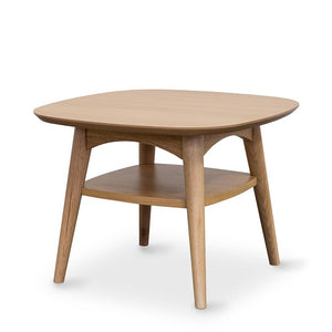 Oslo Lamp Table With Shelf