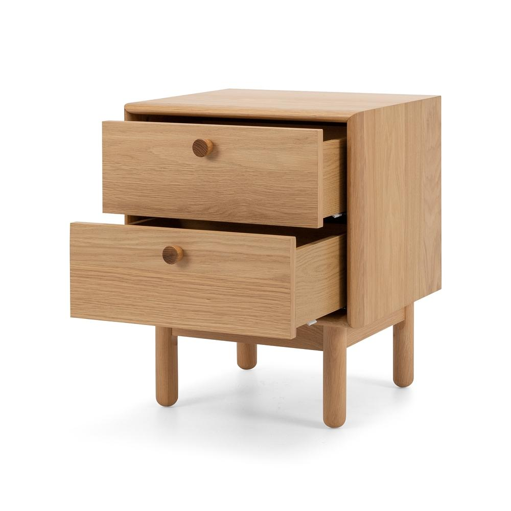 Rotterdam Bedside - Two Drawers