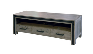 Cypress Tv Unit - Three Drawers