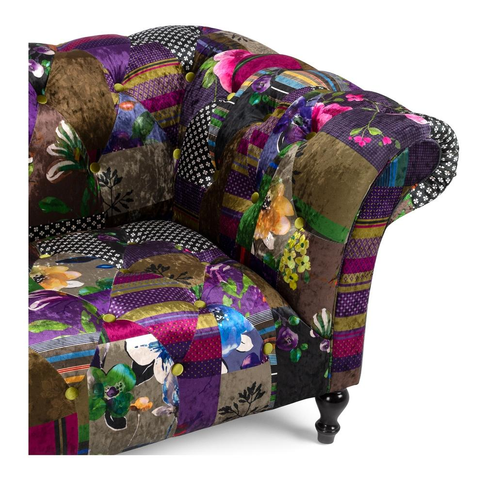 Patchwork Three Seater