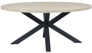 Oneroa Round Outdoor Dining Table