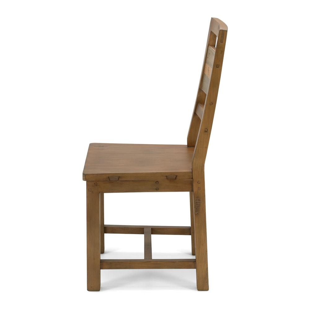 Forged Dining Chair - Timber Seat