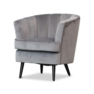 Isla Accent Chair - Grey