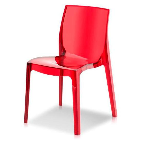 Imola Dining Chair - Red