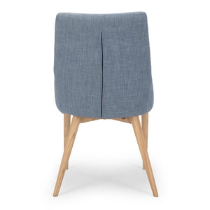 Eva Dining Chair - Fjord Blue