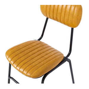 Datsun Dining Chair Vintage - Camel