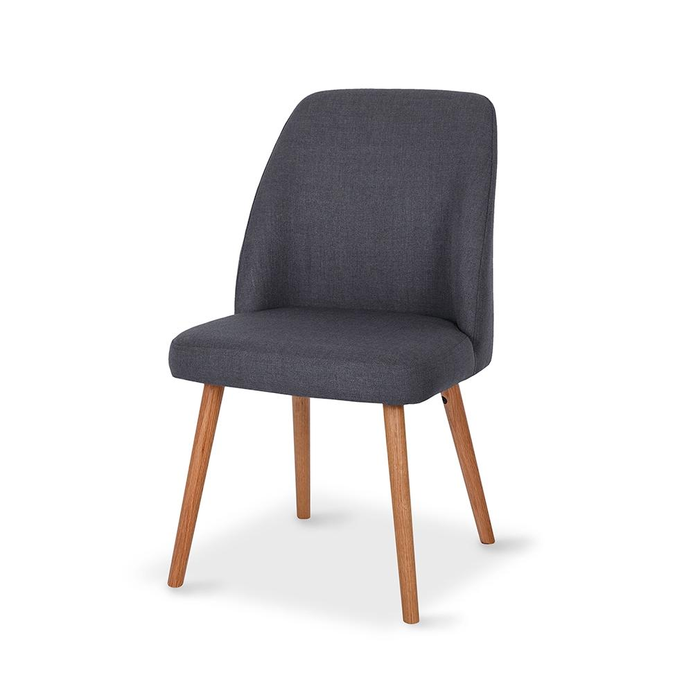 Melle Dining Chair - Dark Grey