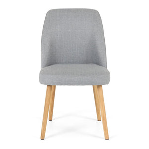 Melle Dining Chair - Light Grey