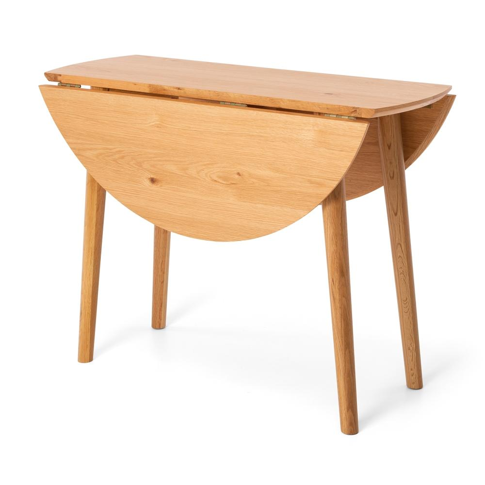 Nordik Dropleaf Table 100Rd