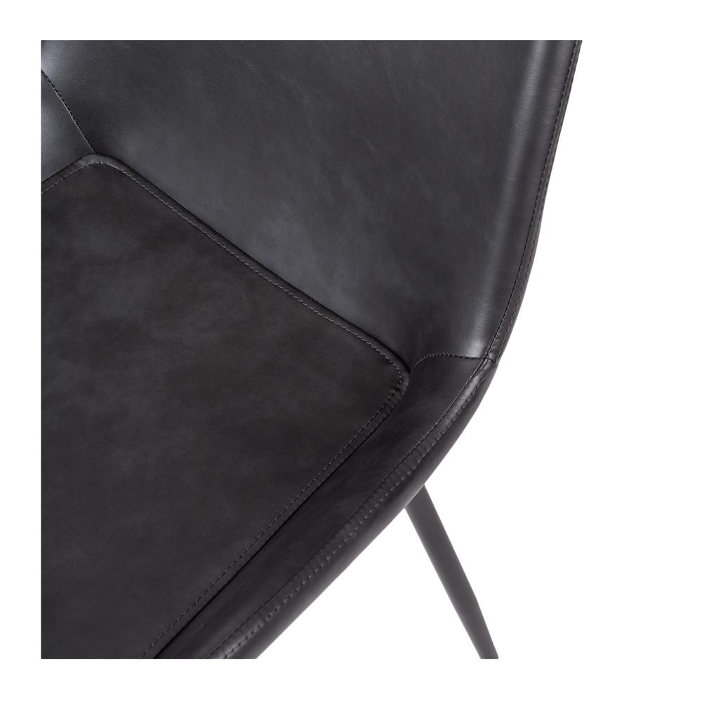 Vintage Chair Black PU