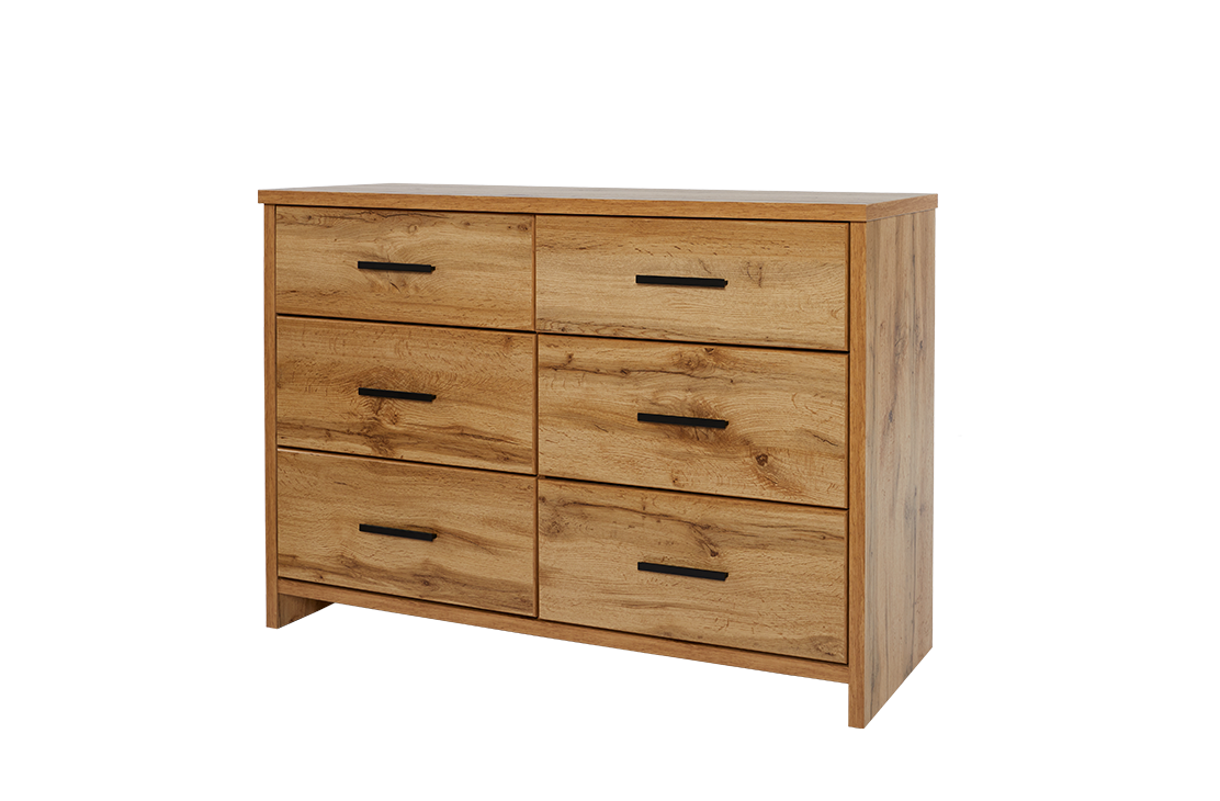 Nova Lowboy - Six Drawers