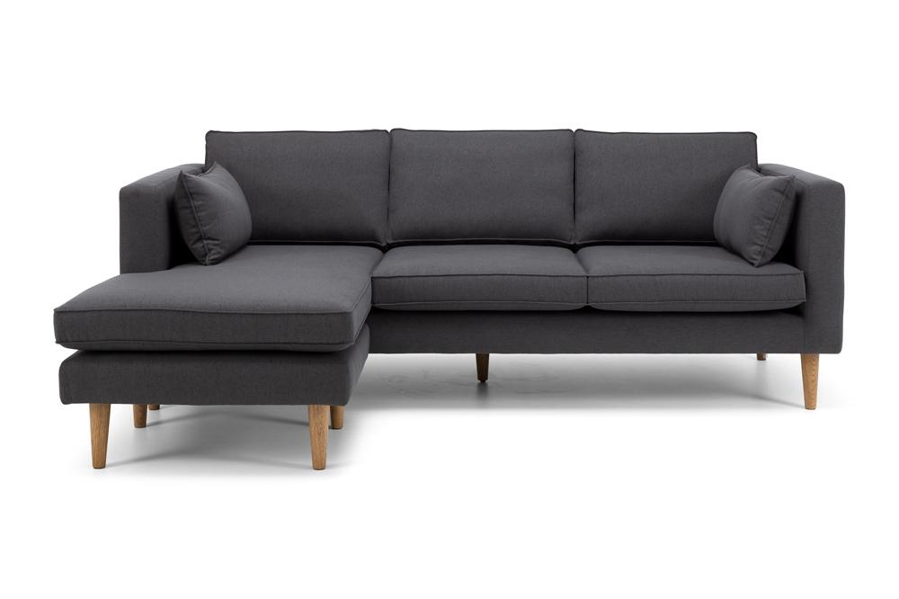 Nord Three Seater Chaise - Antrazite