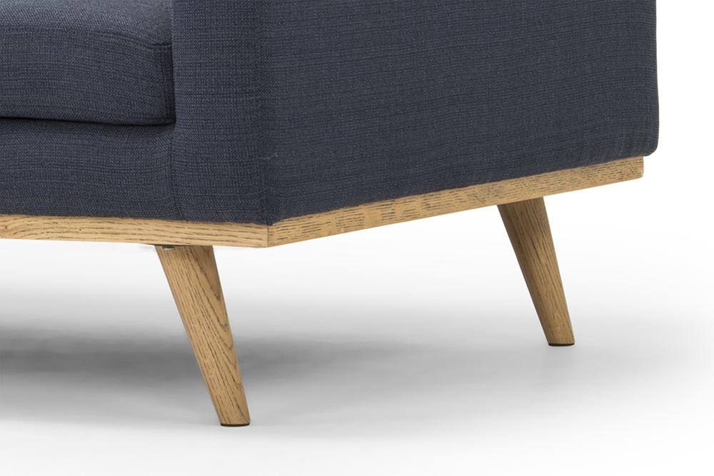 Helsinki Three Seater - Dust Blue