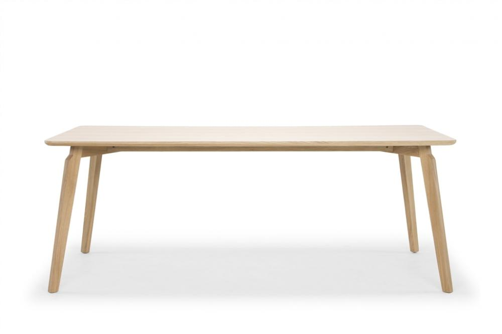Linea Dining Table 200 (Natural Oak)