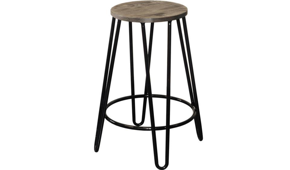 Willow Barstool - 650 (Dark Elm)