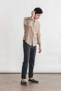 Sutton Bronze Chambray