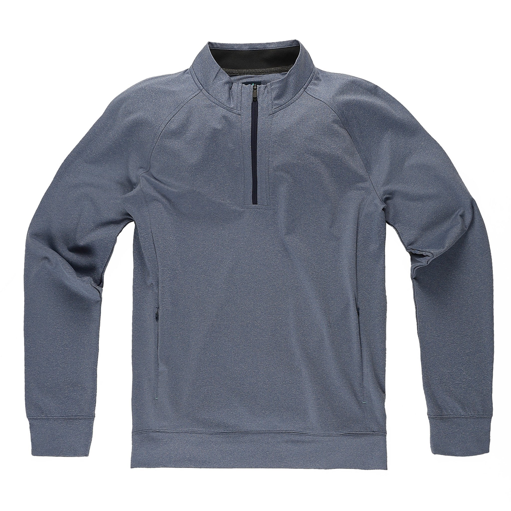 Momentum Quarter-Zip in Heather River