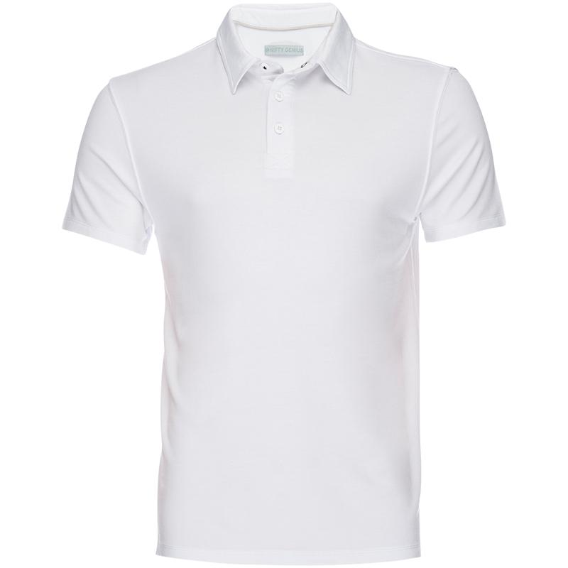 Nicholas Modal Polo in White