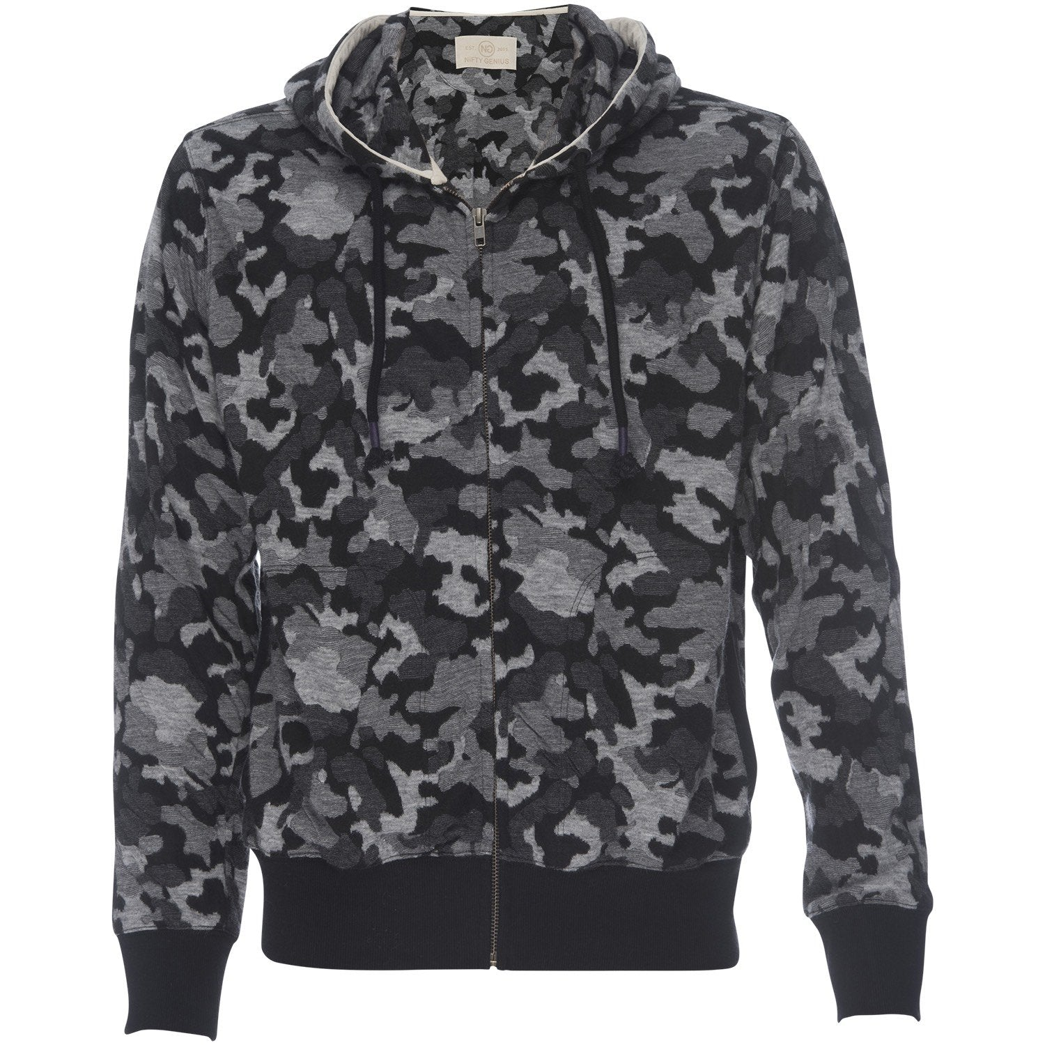 Cassius Hooded Sweatshirt in Camo