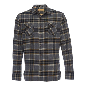 Truman Outdoor Shirt in Gray Plaid