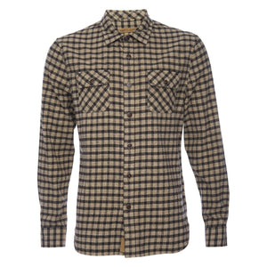 Truman Outdoor Shirt in Twill Check Plaid