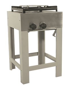 Anafe Industrial 1 plato doble quemador Tipo Wok 430x430 mm.