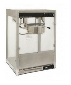 MAQUINA POP CORN ECOBECK HP-2488 SS, 8oZ (250Gr), MEDIDAS 505x350x680mm, 1,2 Kw.