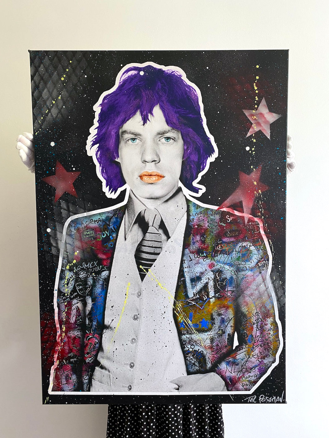 Mick Jagger -  Canvas NEW