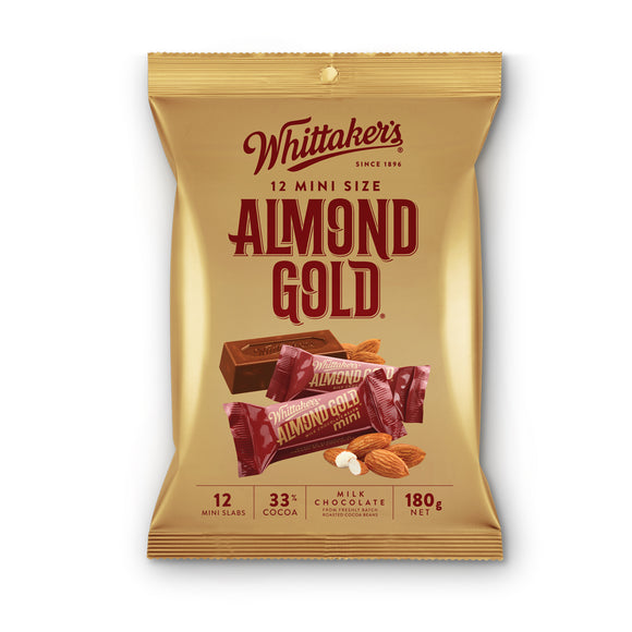 Whittaker Almond Gold Mini 12 x 180g