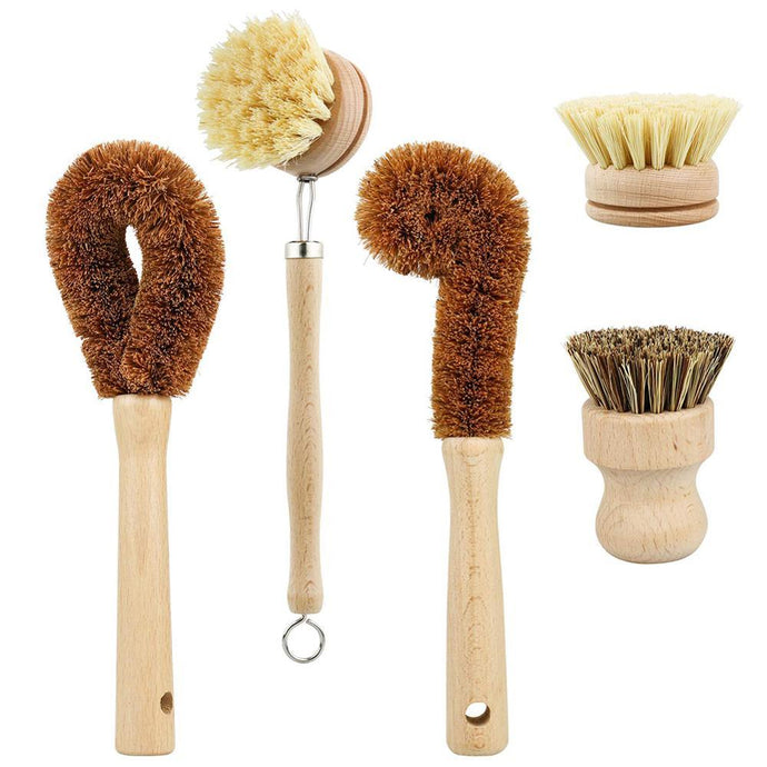 Plant-Based Cleaning Brush Set Plant Based Cleaning Brush Set AshinCooking Store