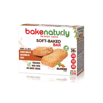 Bake Naturly Almond Soft-Baked Breakfast & Healthy Bar